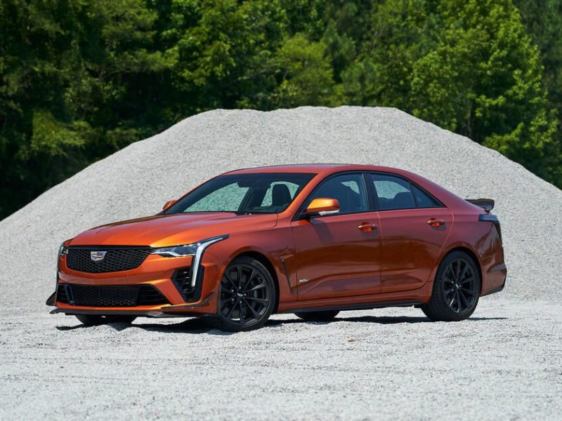 2022 Cadillac CT4-V Blackwing first drive review: Voracious