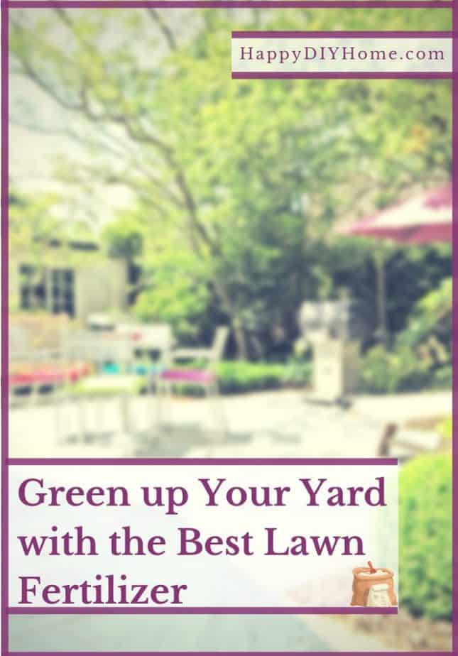 Green up Your Yard with the Best Lawn Fertilizer Cover