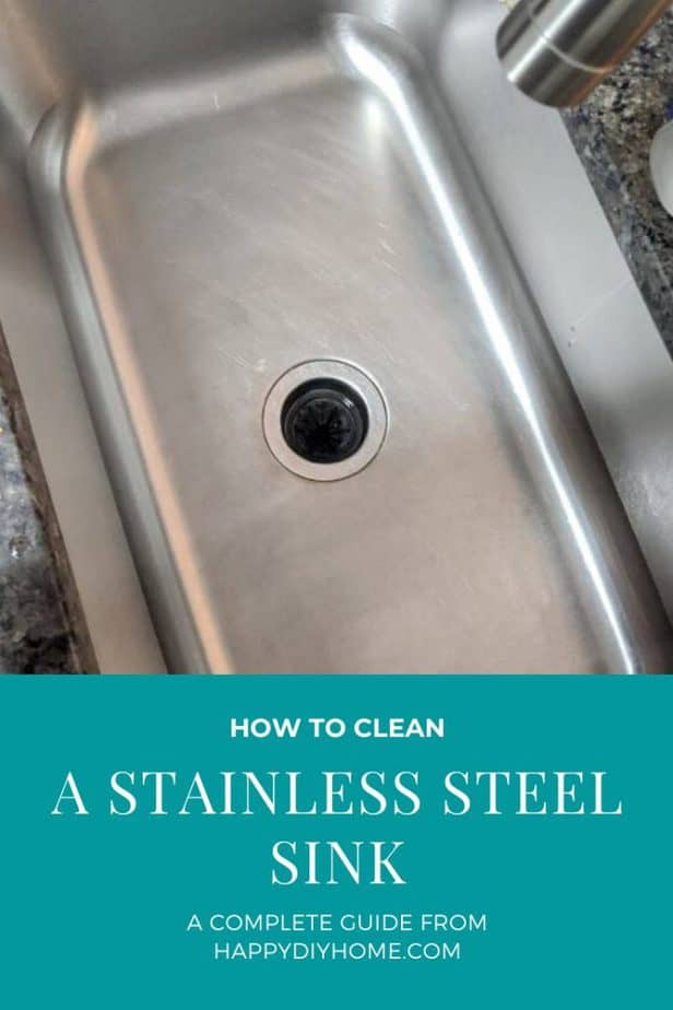0. How to Clean a Sink