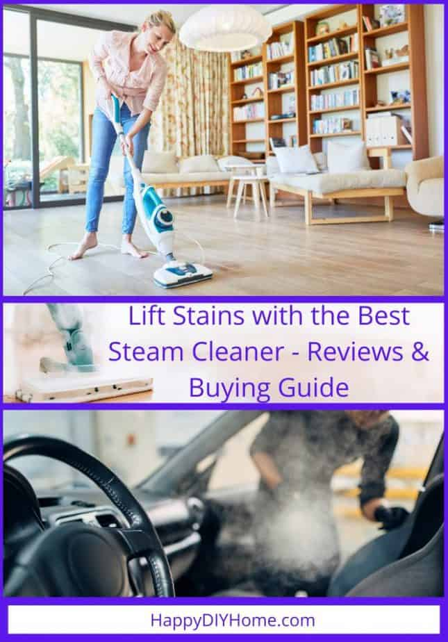 Lift Stains with the Best Steam Cleaner Reviews Buying Guide