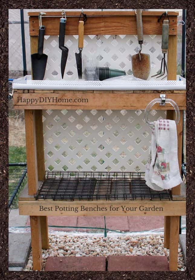 Best Potting Benches for Your Garden