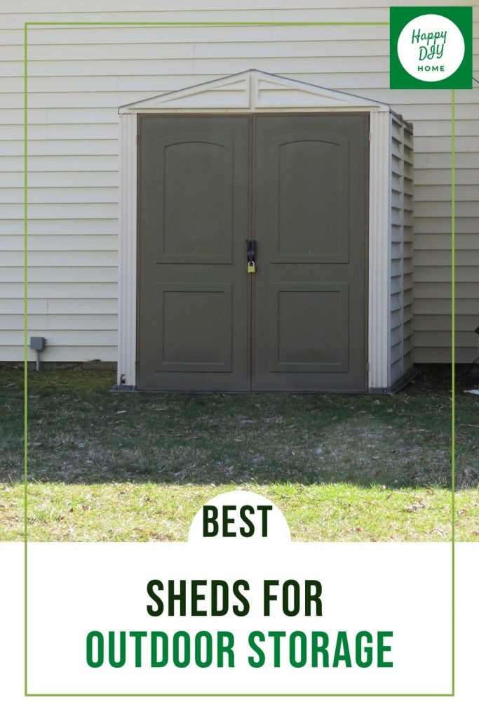 Best Sheds for Outdoor Storage 1