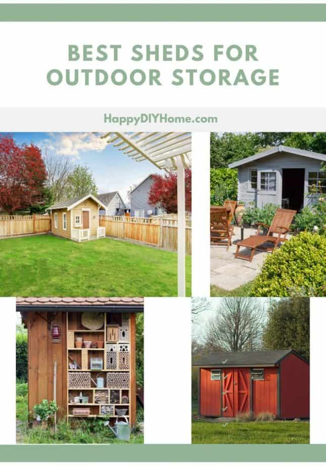 Best Sheds for Outdoor Storage Cover