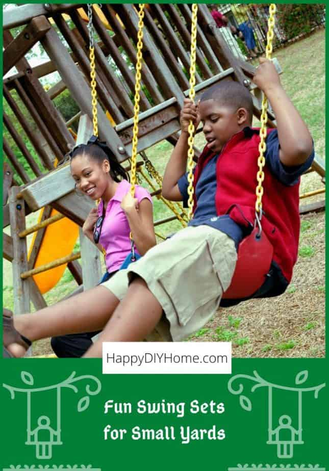 Fun Swing Sets for Small Yards Cover