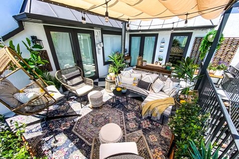 jessica alba patio before and after
