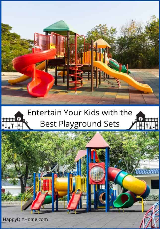 Entertain Your Kids with the Best Playground Sets