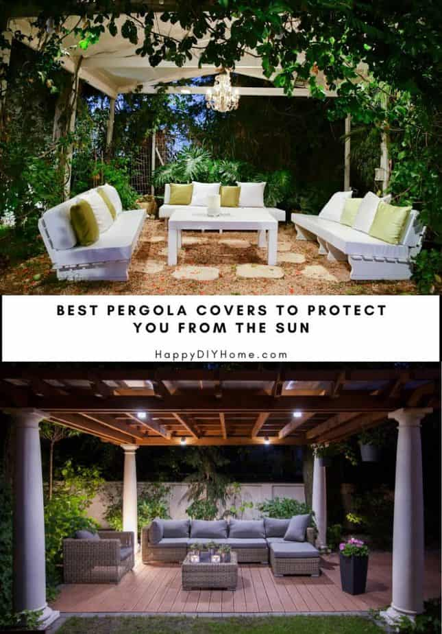 Best Pergola Covers to Protect You From the Sun