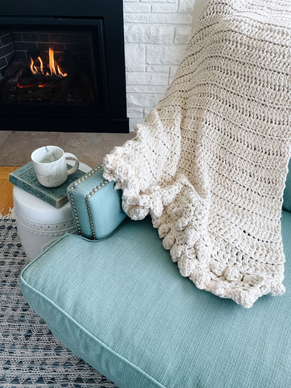 A Cozy Throw Blanket for Fall