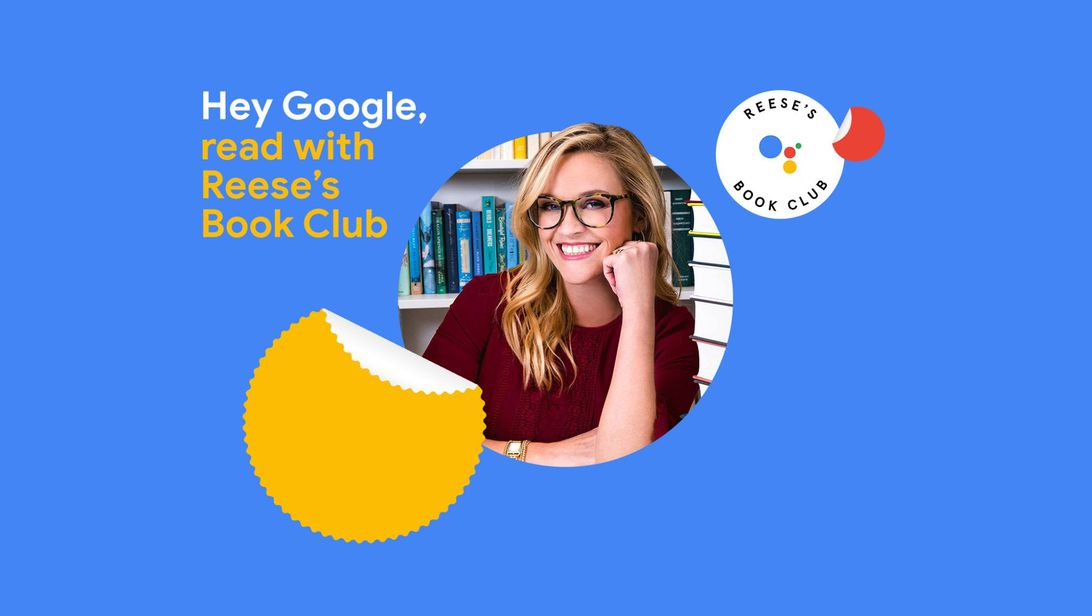 Reese Witherspoon's book club gets Google Assistant collaboration